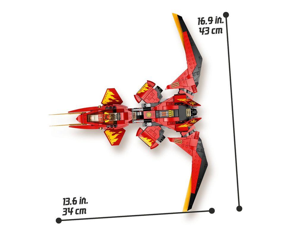 Lego Set 71704 1 Kai Fighter 2020 Ninjago Rebrickable Build With Lego
