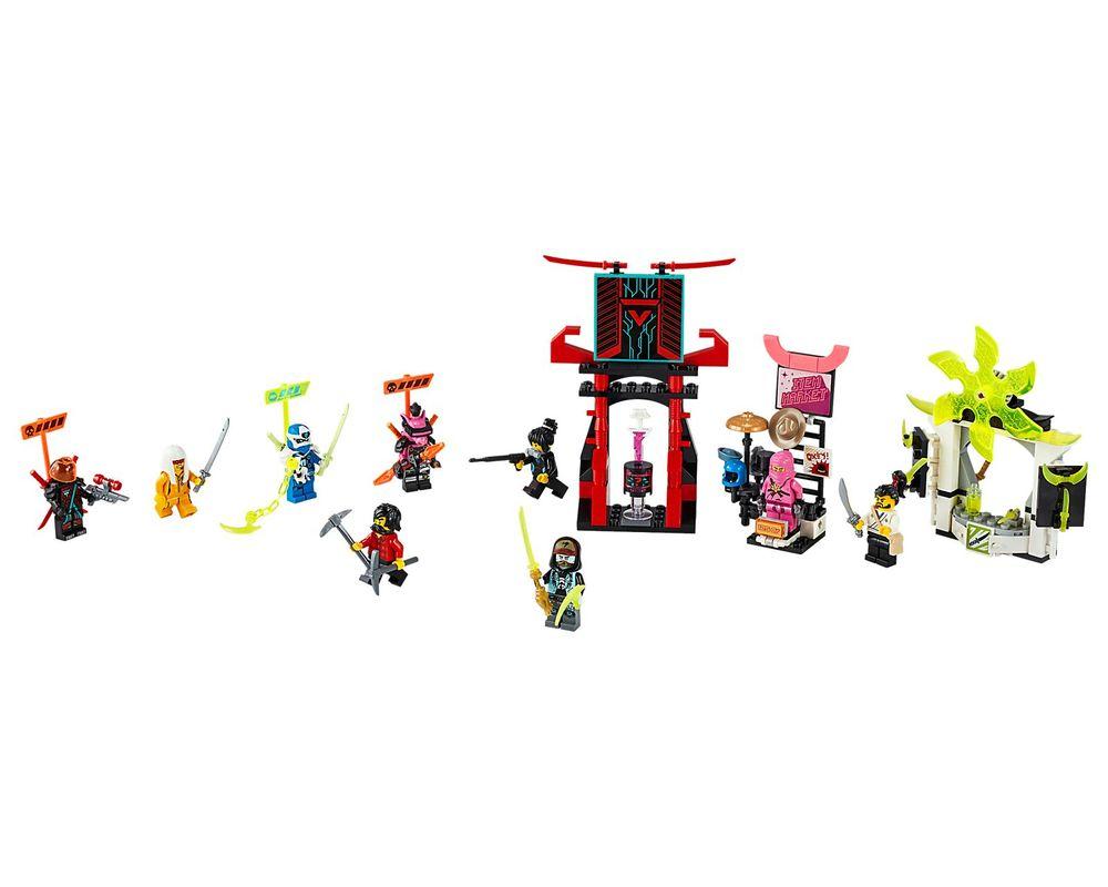 LEGO Set 71708-1 Gamer's Market (LEGO - Model)