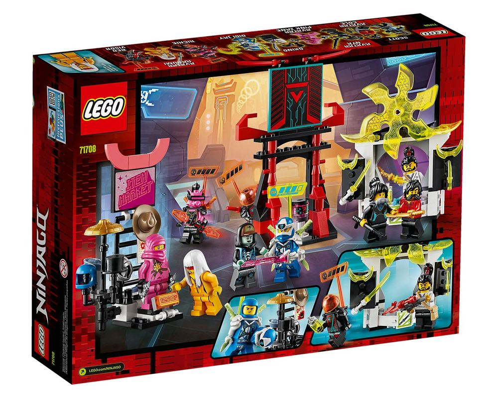 LEGO Set 71708-1 Gamer's Market