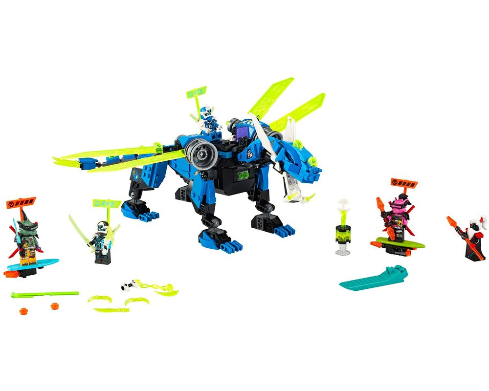 LEGO Set 71711-1 Jay's Cyber Dragon (LEGO - Model)