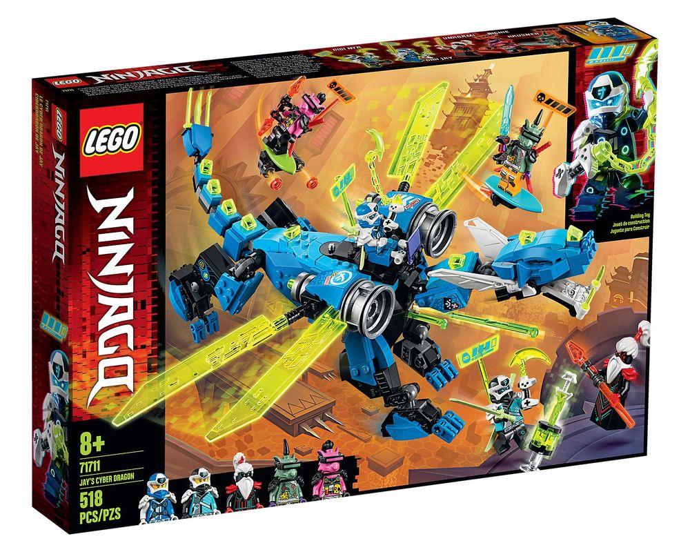 LEGO Set 71711-1 Jay's Cyber Dragon