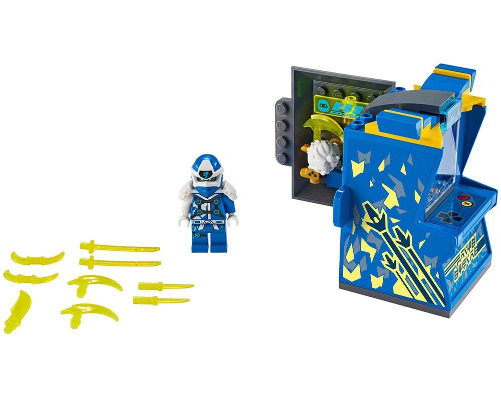 LEGO Set 71715-1 Jay Avatar - Arcade Pod (Model - A-Model)