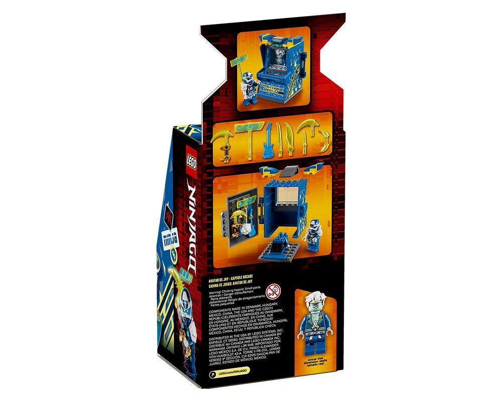 LEGO Set 71715-1 Jay Avatar - Arcade Pod