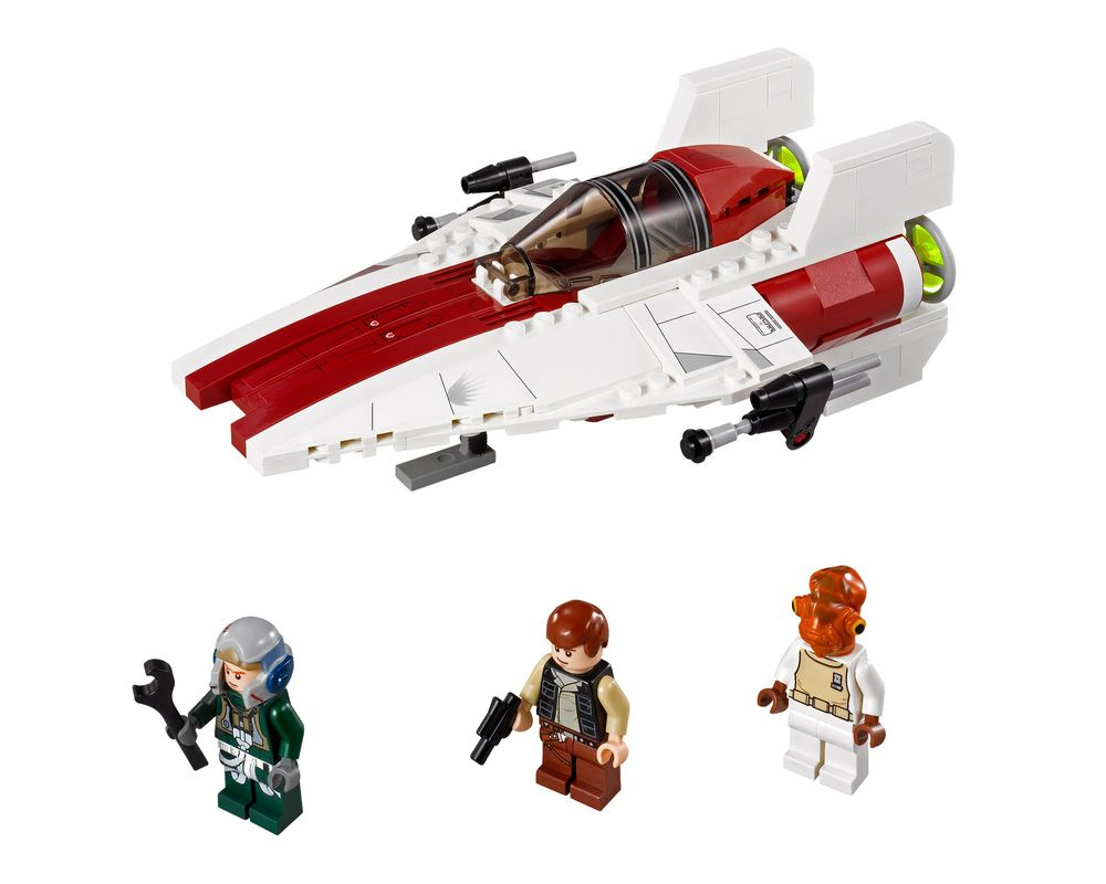 LEGO Set 75003-1 A-wing Starfighter (Model - A-Model)