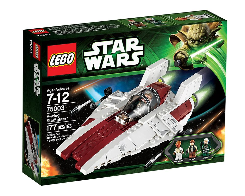 LEGO Set 75003-1 A-wing Starfighter