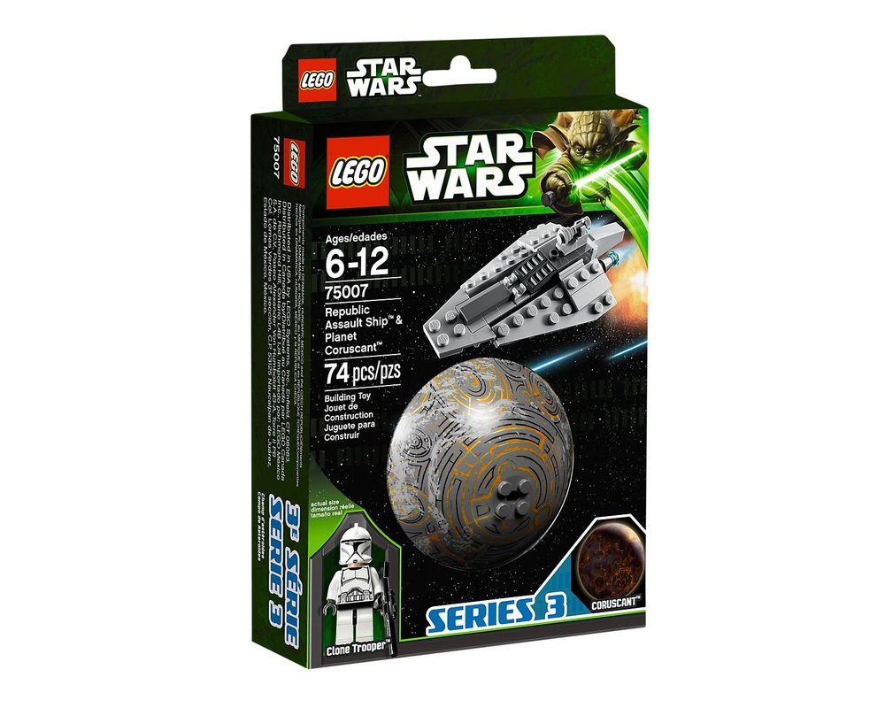 LEGO Set 75007-1 Republic Assault Ship & Planet Coruscant
