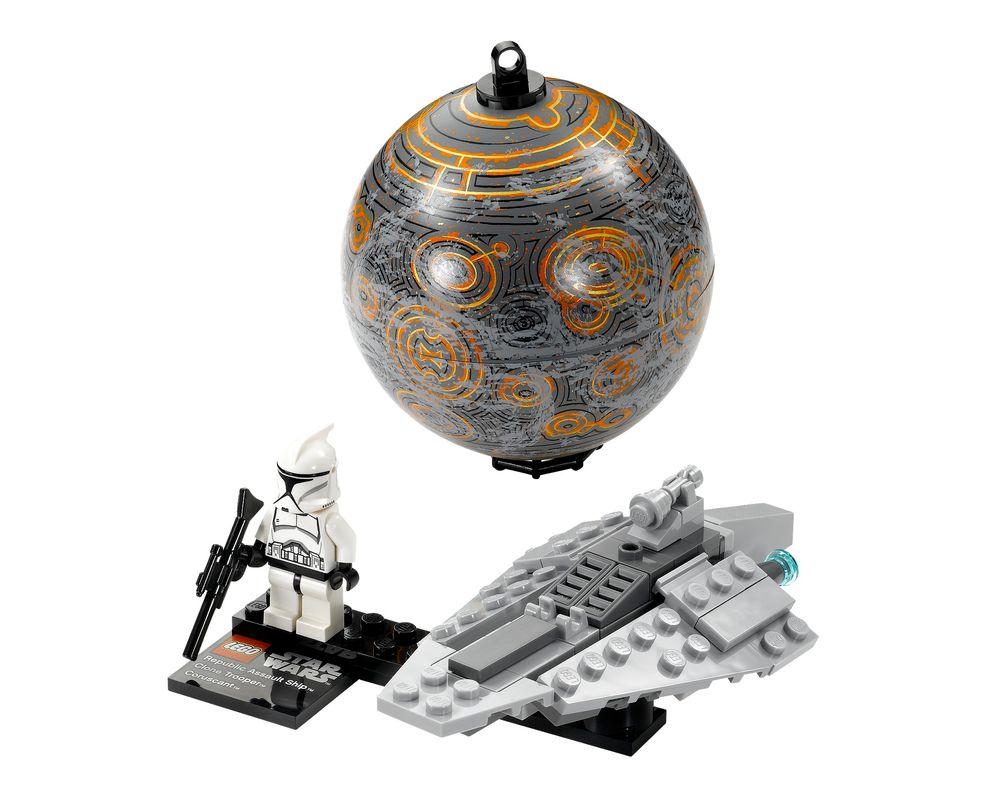 LEGO Set 75007-1 Republic Assault Ship & Planet Coruscant (Model - A-Model)