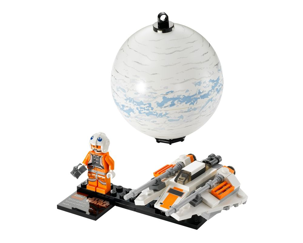 LEGO Set 75009-1 Snowspeeder & Planet Hoth (LEGO - Model)