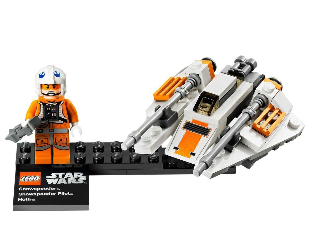 LEGO Set 75009-1 Snowspeeder & Planet Hoth