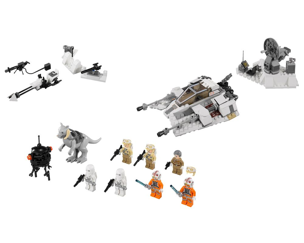 LEGO Set 75014-1 Battle Of Hoth (LEGO - Model)
