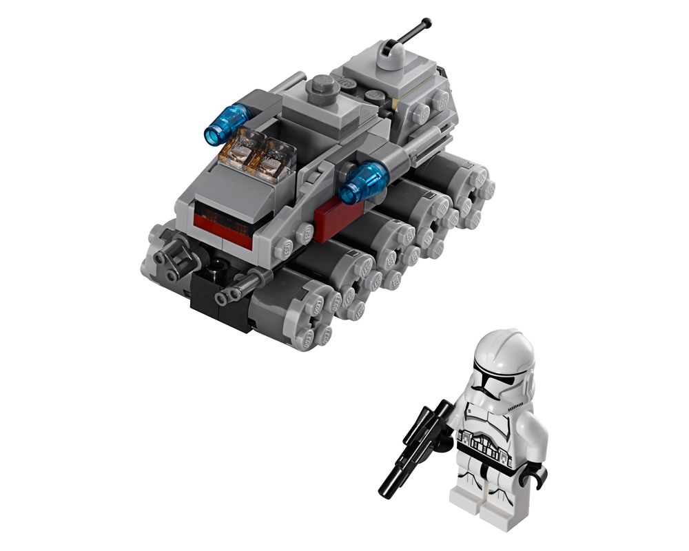 LEGO Set 75028-1 Clone Turbo Tank (LEGO - Model)
