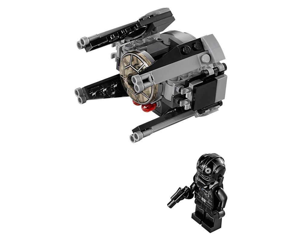 LEGO Set 75031-1 TIE Interceptor (LEGO - Model)
