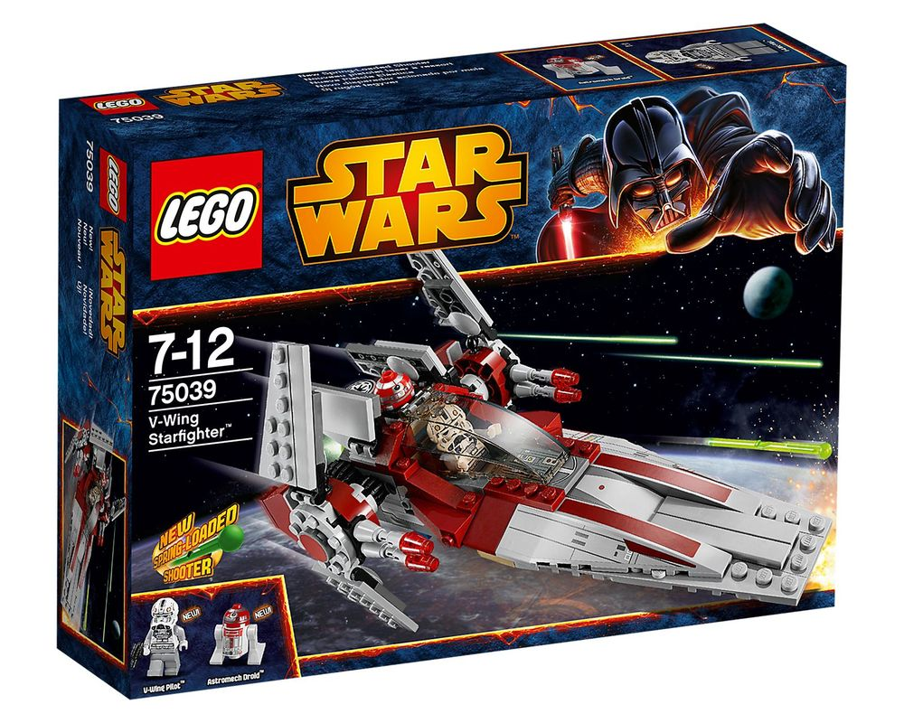 LEGO Set 75039-1 V-Wing Starfighter