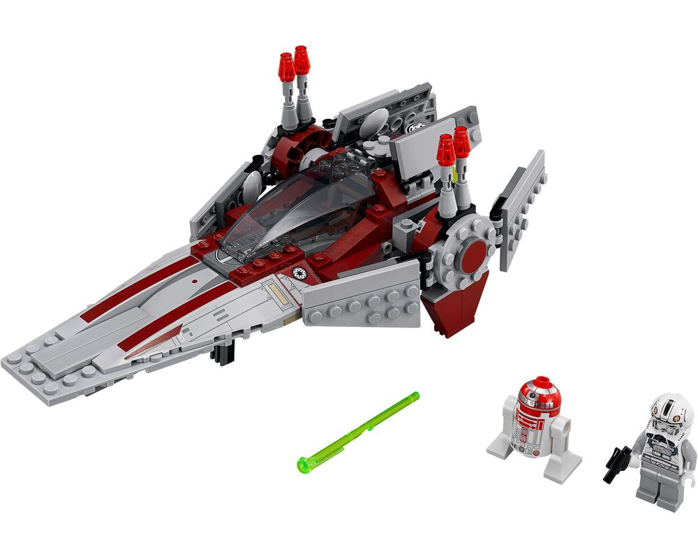 LEGO Set 75039-1 V-Wing Starfighter (LEGO - Model)
