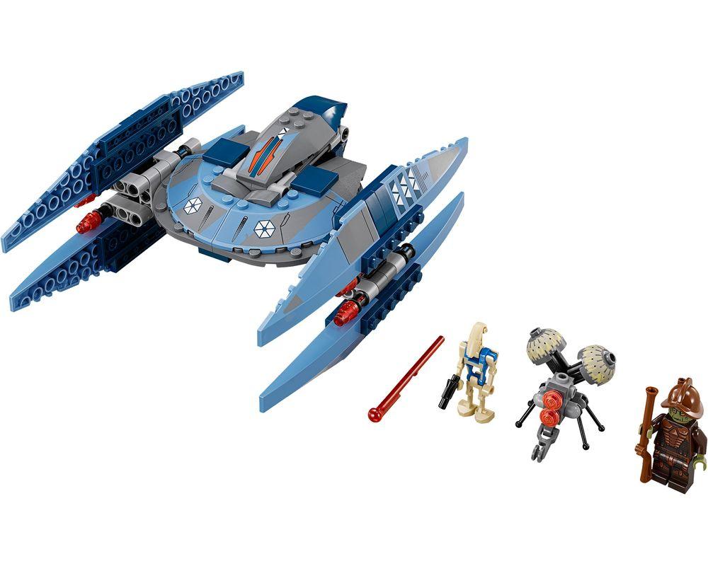 LEGO Set 75041-1 Vulture Droid (LEGO - Model)