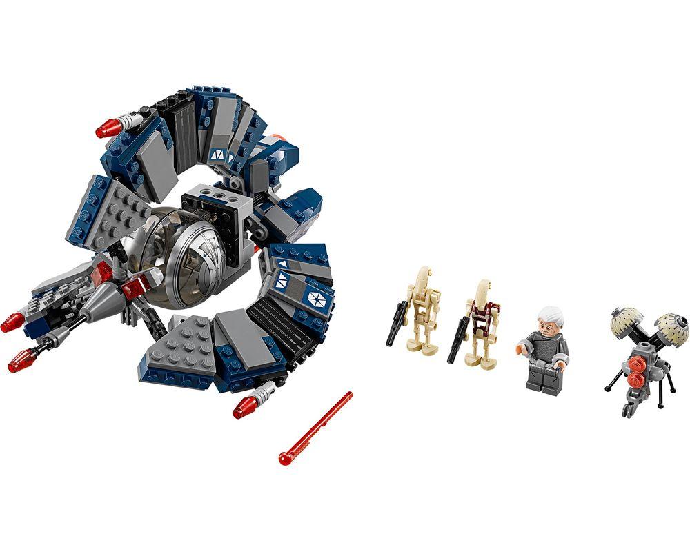 LEGO Set 75044-1 Droid Tri-Fighter (Model - A-Model)