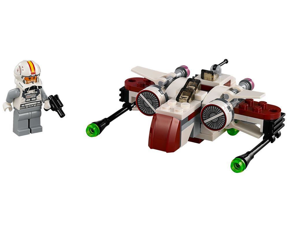 LEGO Set 75072-1 ARC-170 Starfighter (Model - A-Model)