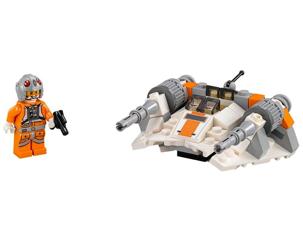 LEGO Set 75074-1 Snowspeeder (Model - A-Model)
