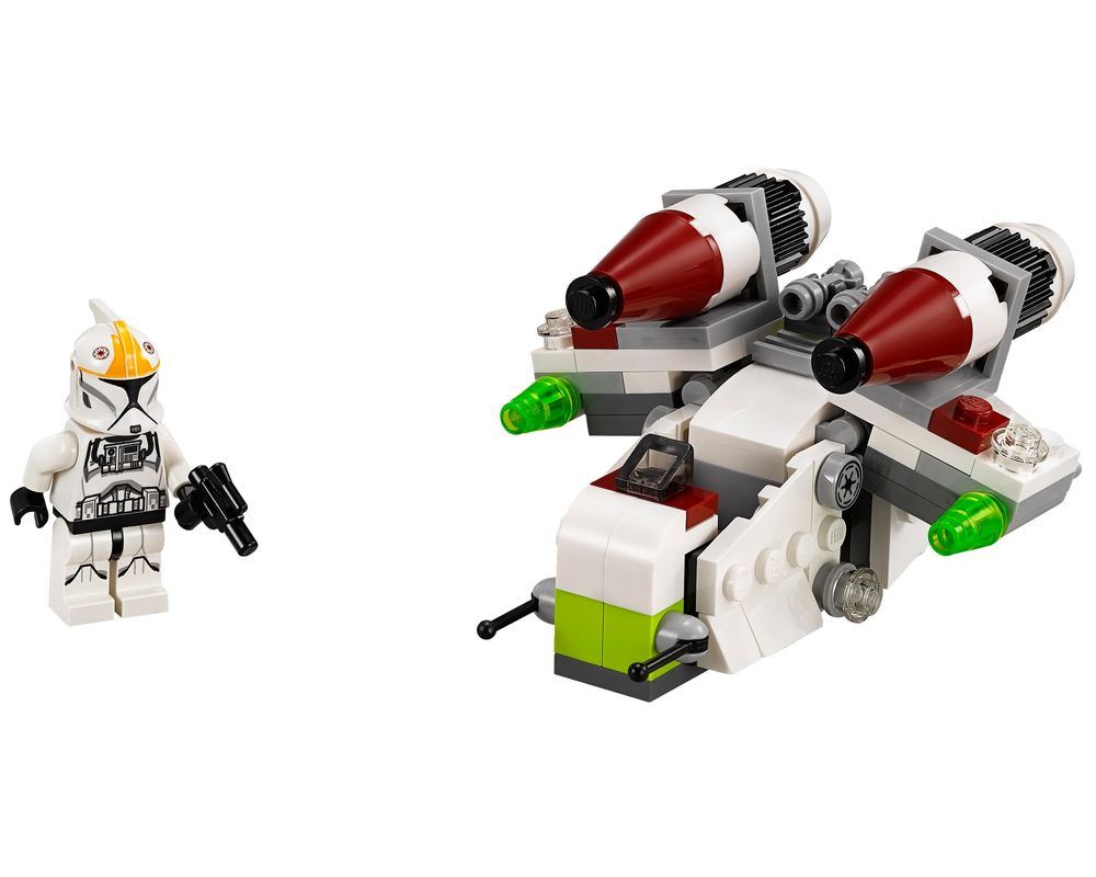 LEGO Set 75076-1 Republic Gunship (LEGO - Model)