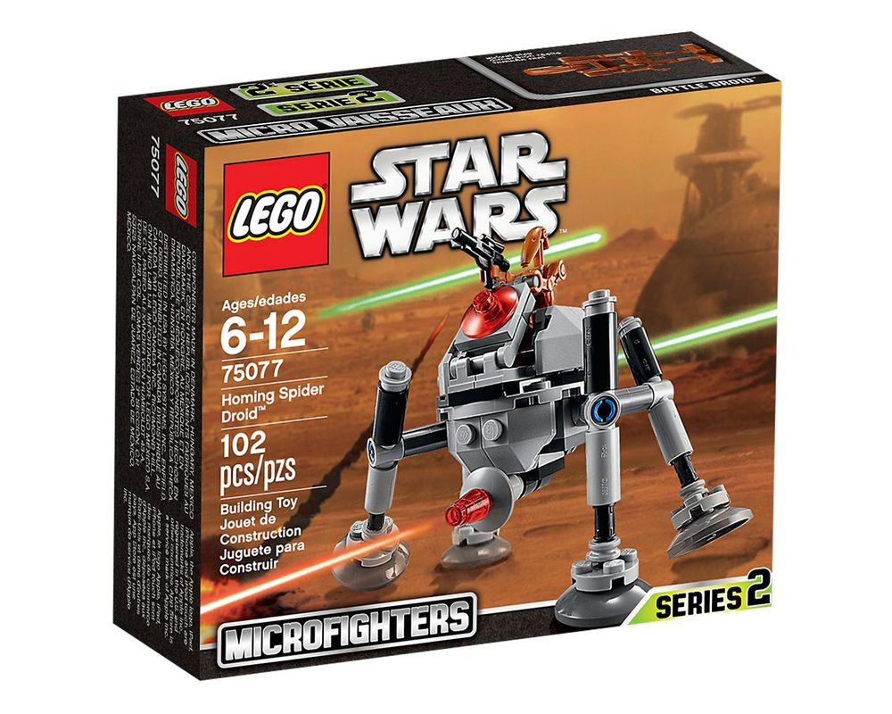 LEGO Set 75077-1 Homing Spider Droid