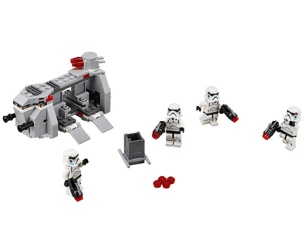 LEGO Set 75078-1 Imperial Troop Transport (LEGO - Model)