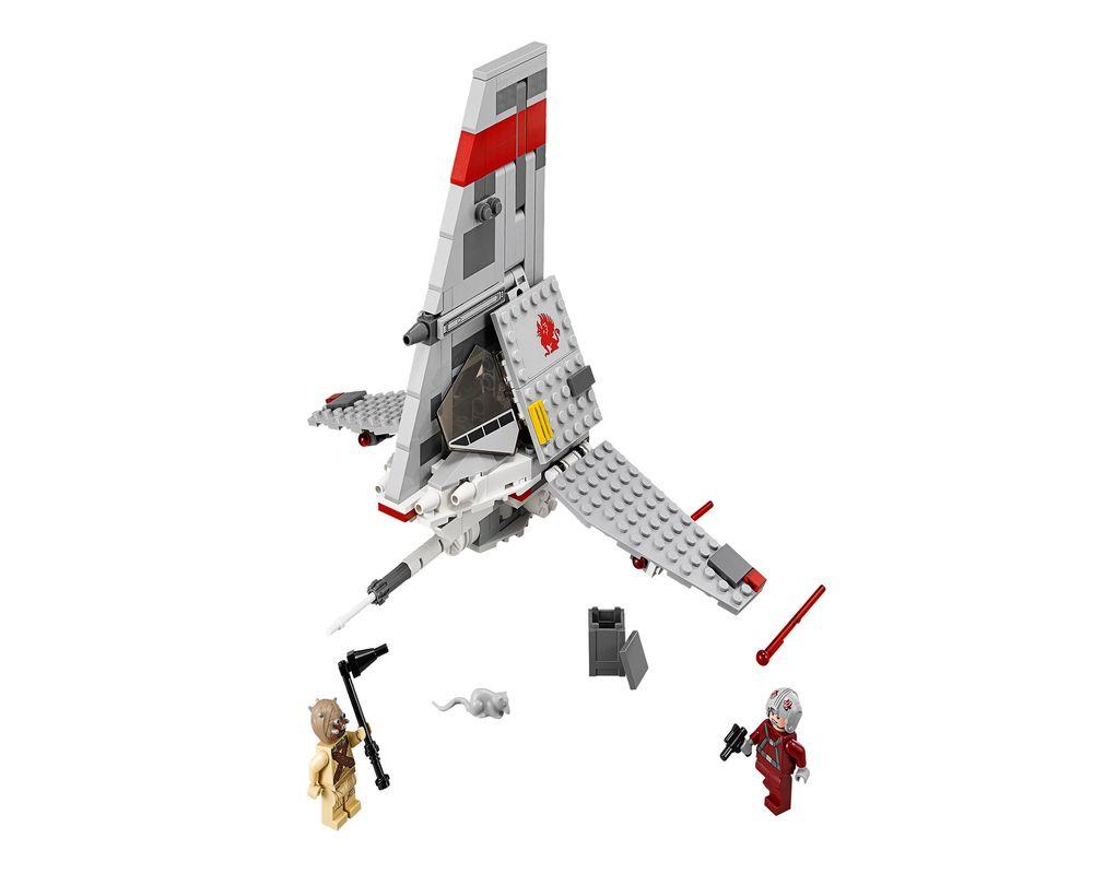 LEGO Set 75081-1 T-16 Skyhopper (LEGO - Model)