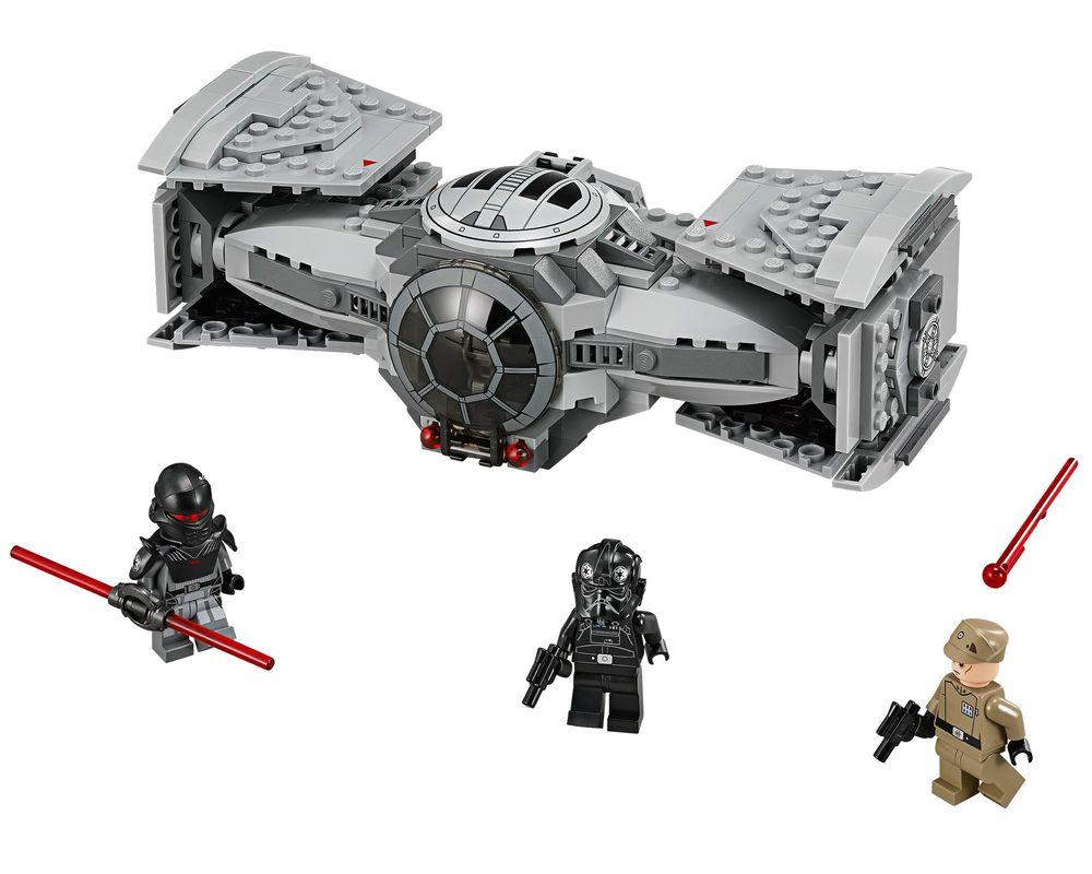 LEGO Set 75082-1 TIE Advanced Prototype (LEGO - Model)
