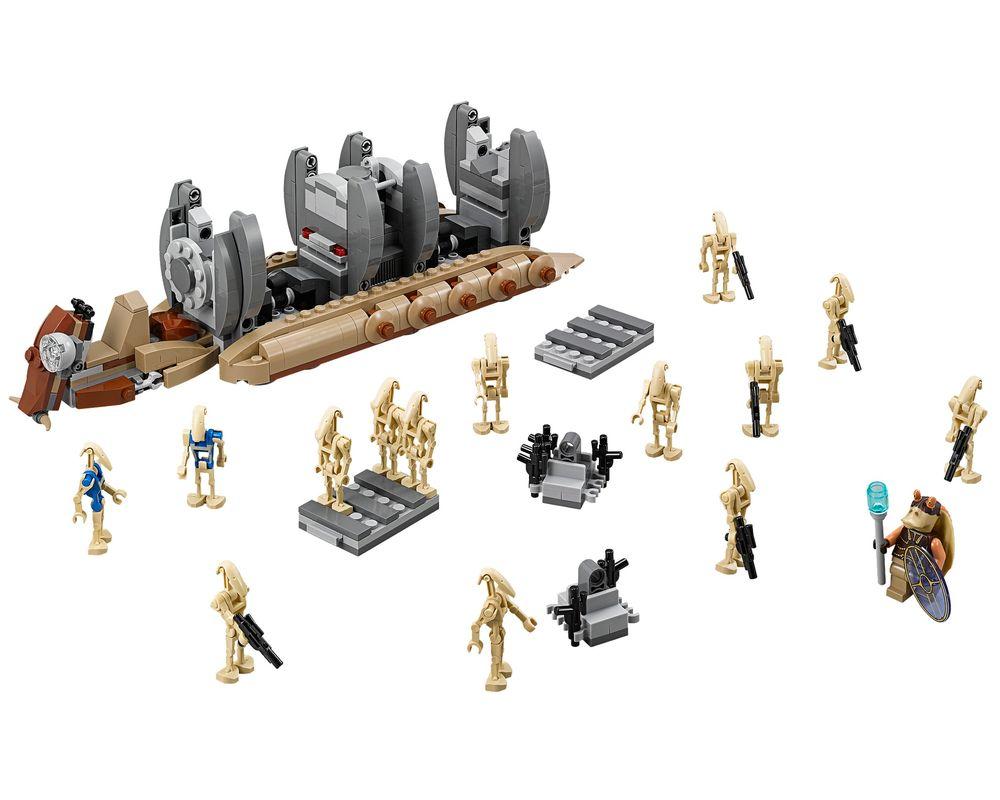 LEGO Set 75086-1 Battle Droid Troop Carrier (LEGO - Model)
