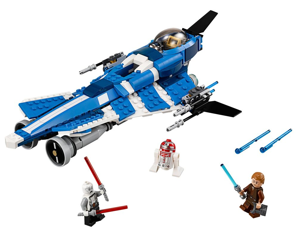 LEGO Set 75087-1 Anakin's Custom Jedi Starfighter (Model - A-Model)