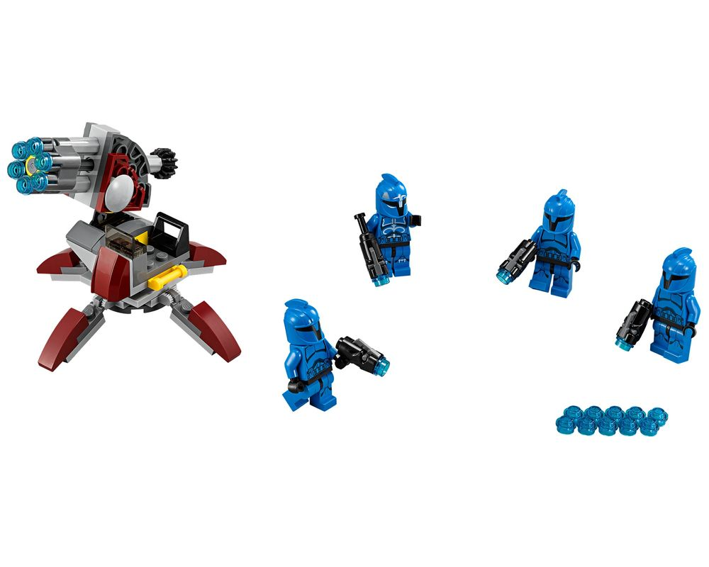 LEGO Set 75088-1 Senate Commando Troopers (Model - A-Model)