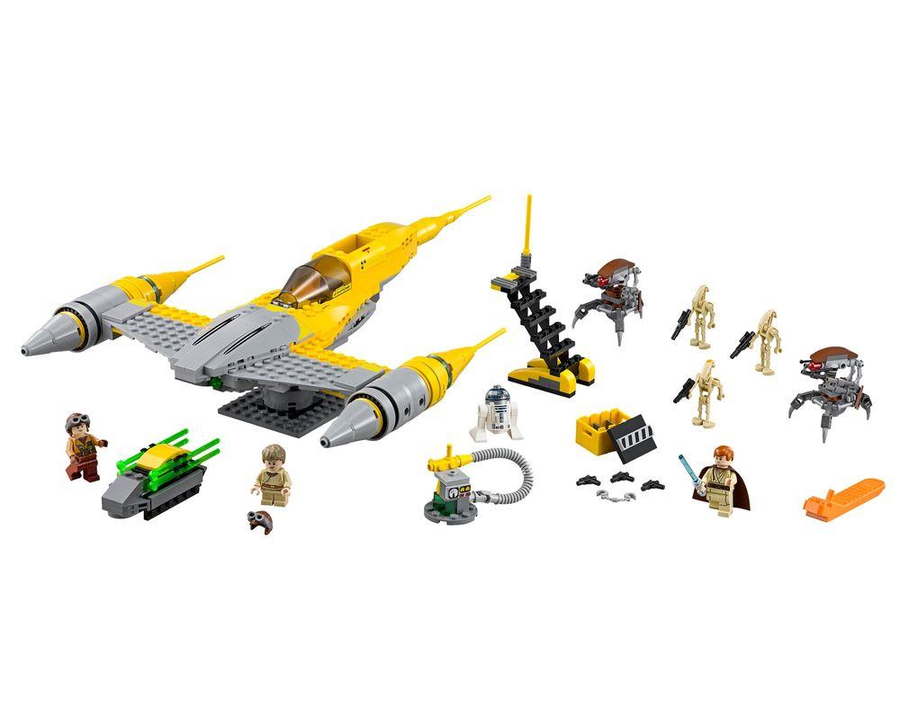 LEGO Set 75092-1 Naboo Starfighter (Model - A-Model)