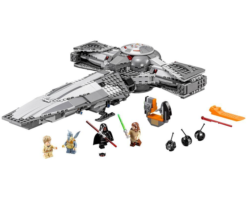 LEGO Set 75096-1 Sith Infiltrator (LEGO - Model)