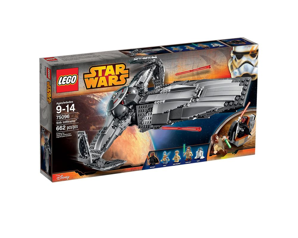 LEGO Set 75096-1 Sith Infiltrator