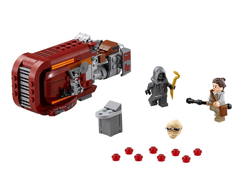 LEGO Set 75099-1 Rey's Speeder (Model - A-Model)