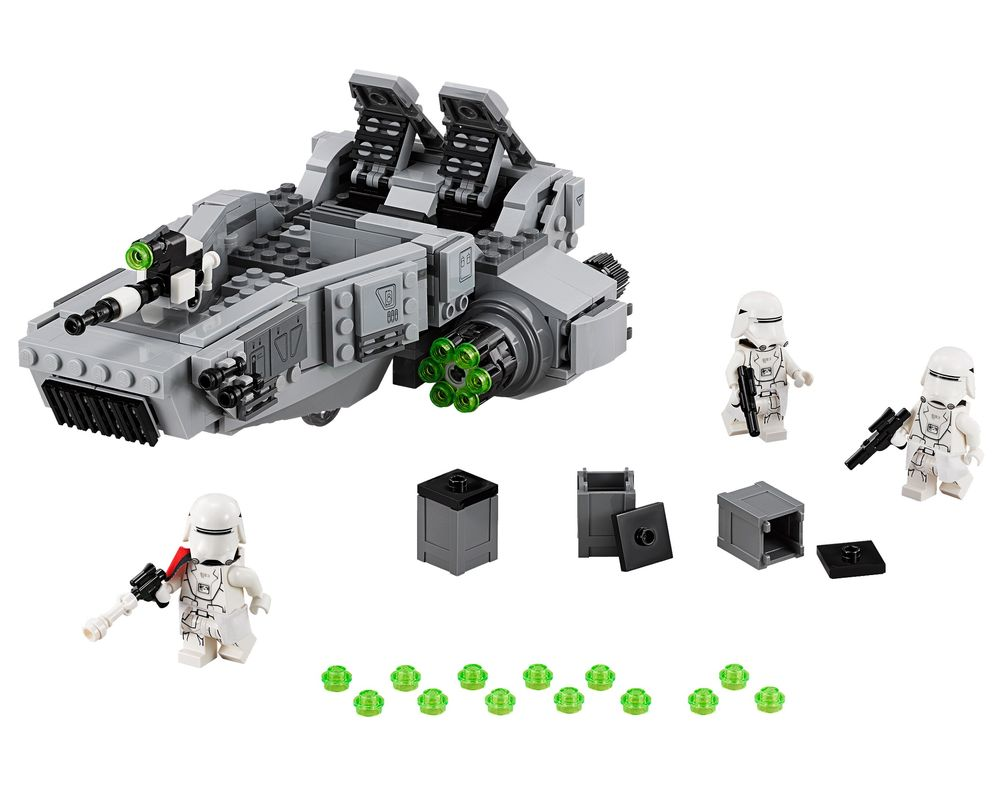LEGO Set 75100-1 First Order Snowspeeder (LEGO - Model)