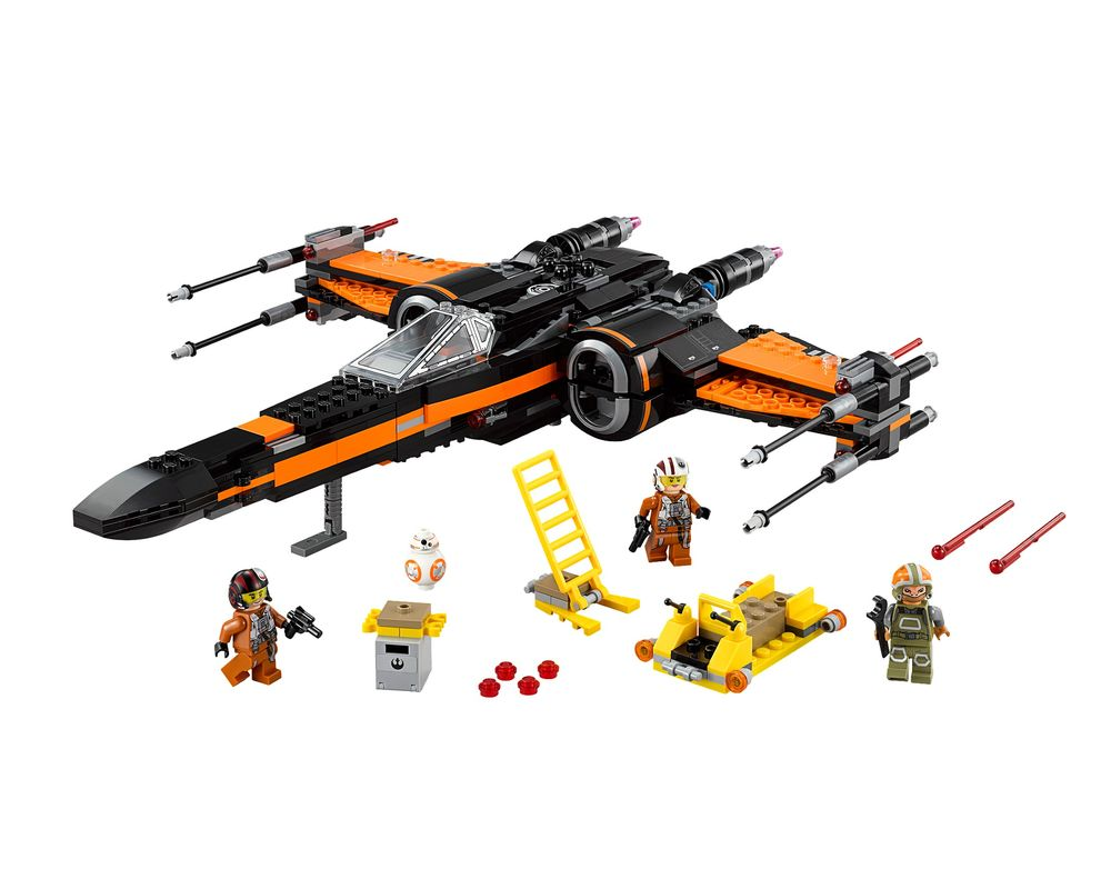 LEGO Set 75102-1 Poe's X-Wing Fighter (Model - A-Model)