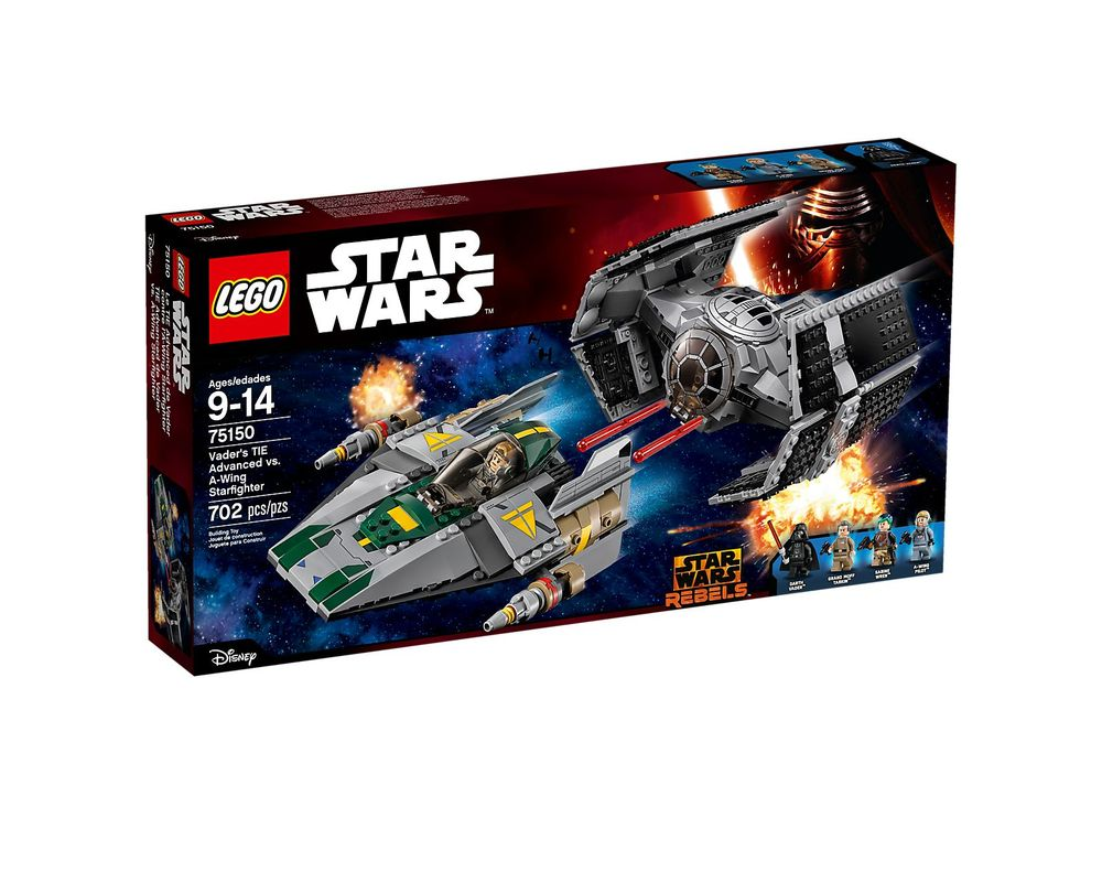 LEGO Set 75150-1 Vader's TIE Advanced vs. A-Wing Starfighter