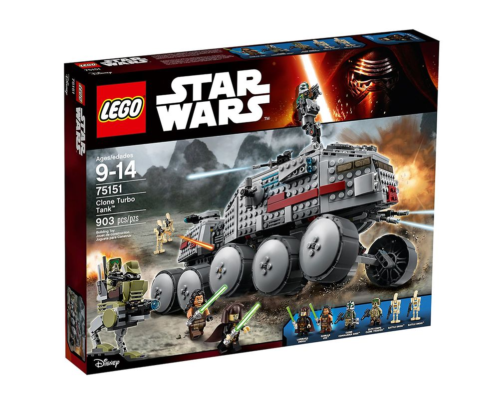LEGO Set 75151-1 Clone Turbo Tank