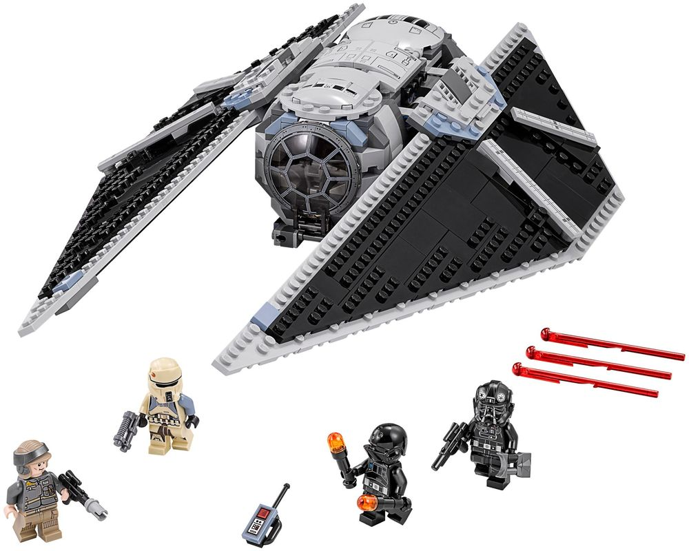 LEGO Set 75154-1 TIE Striker (LEGO - Model)