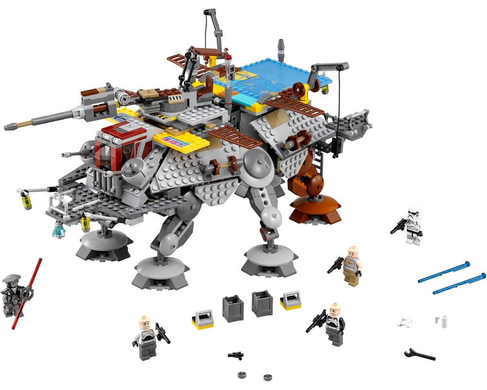 LEGO Set 75157-1 Captain Rex's AT-TE (LEGO - Model)