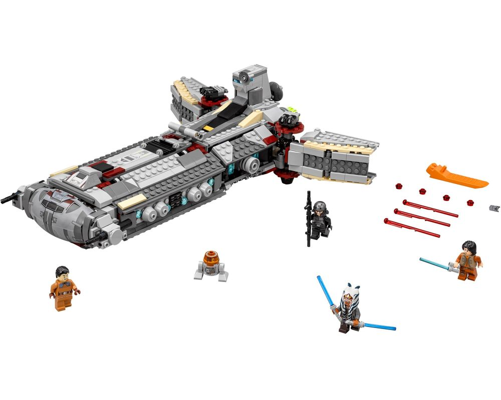 LEGO Set 75158-1 Rebel Combat Frigate (Model - A-Model)