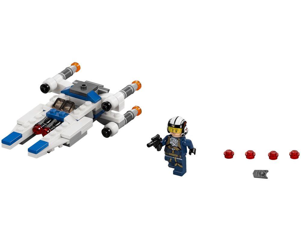 LEGO Set 75160-1 U-Wing Microfighter (Model - A-Model)