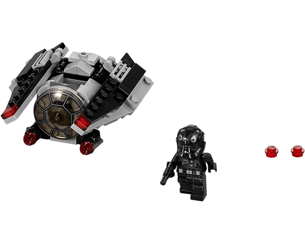 LEGO Set 75161-1 TIE Striker Microfighter (Model - A-Model)