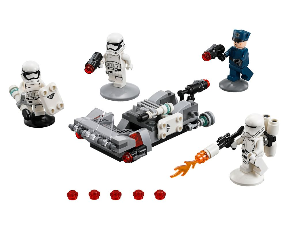 LEGO Set 75166-1 First Order Transport Speeder Battle Pack (Model - A-Model)
