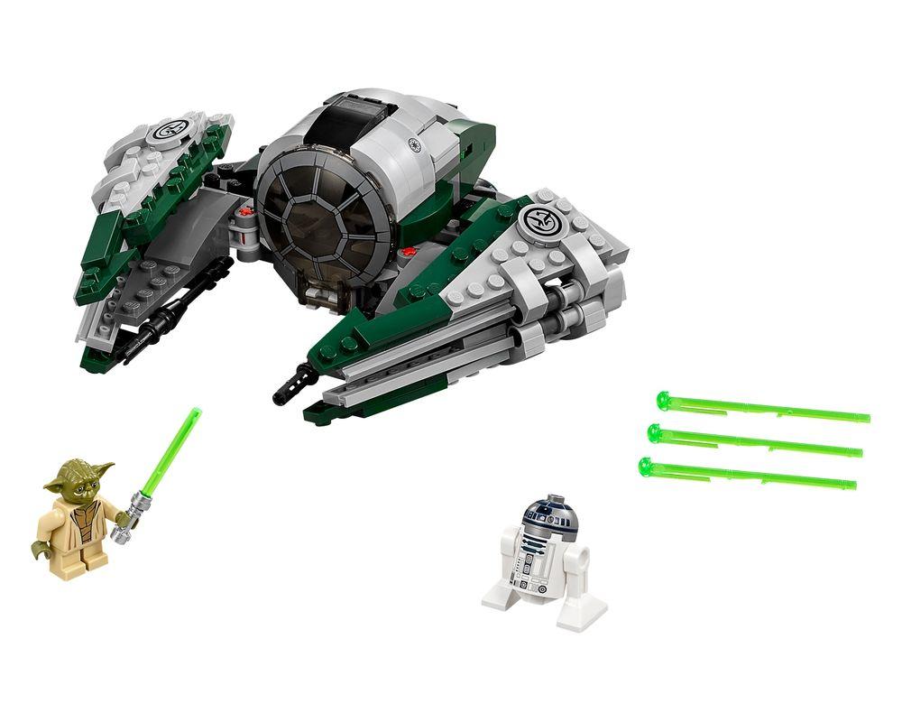 LEGO Set 75168-1 Yoda's Jedi Starfighter (LEGO - Model)