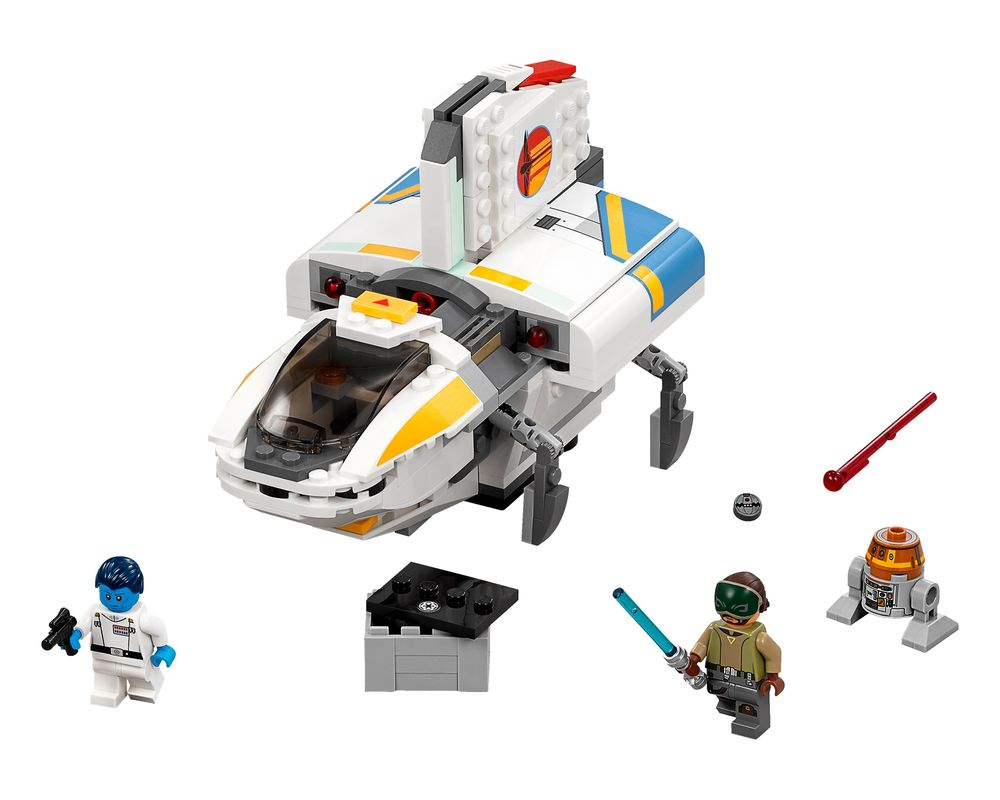 LEGO Set 75170-1 The Phantom (LEGO - Model)