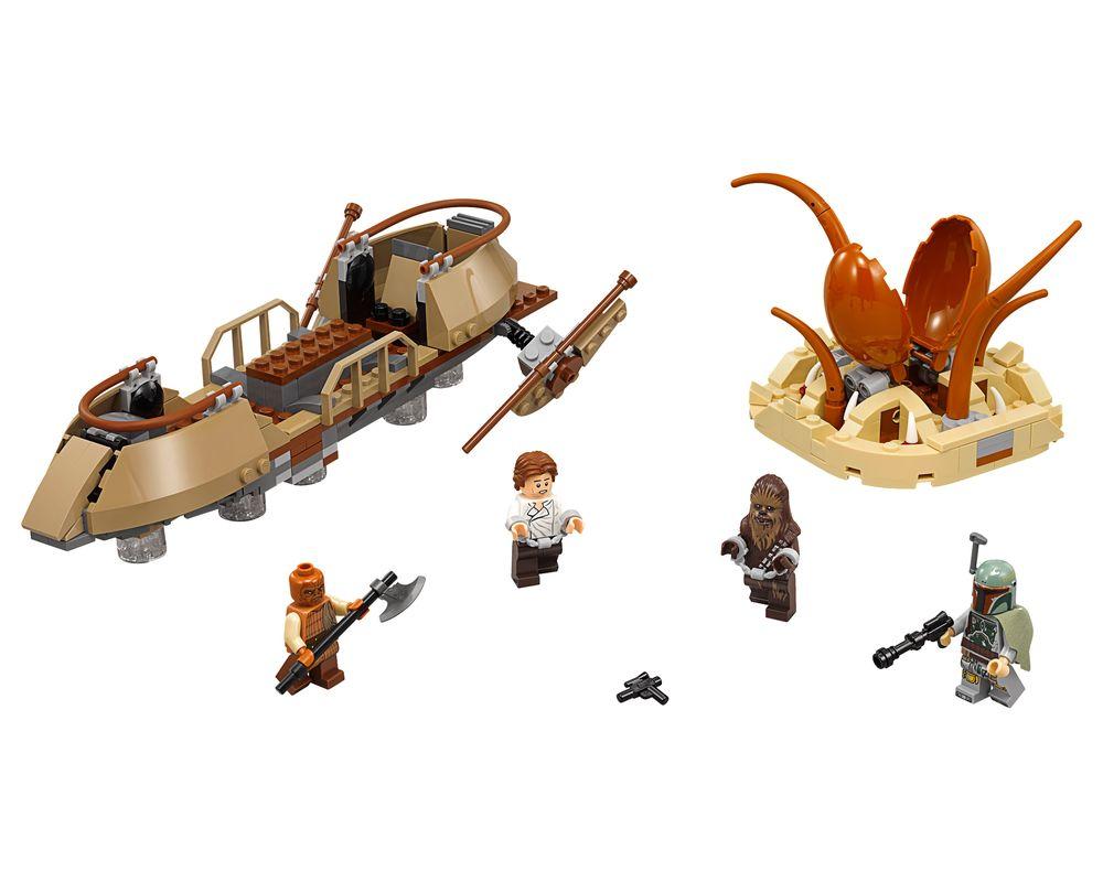 LEGO Set 75174-1 Desert Skiff Escape (Model - A-Model)