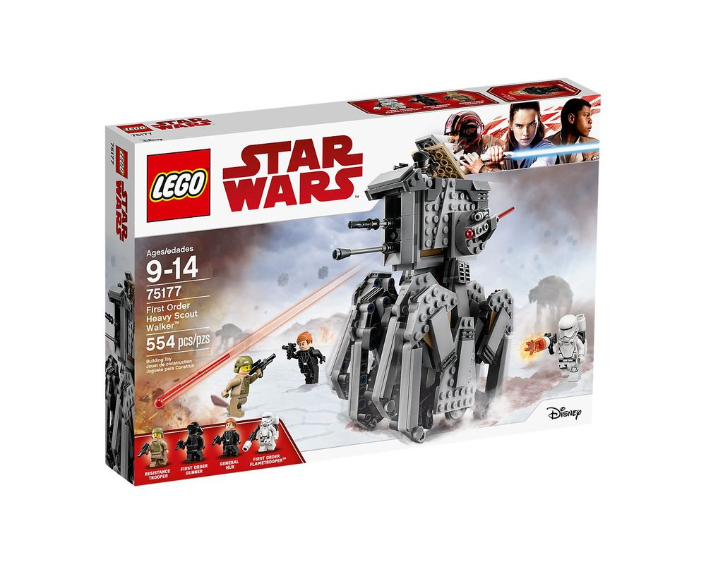 LEGO Set 75177-1 First Order Heavy Scout Walker (LEGO - Box Front)