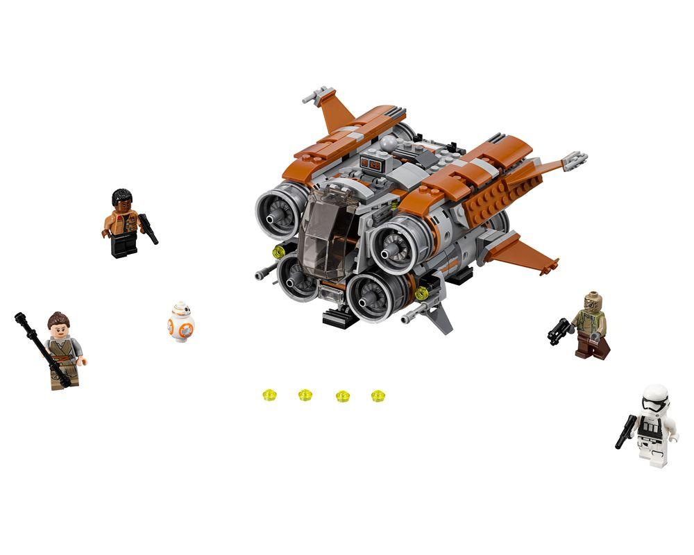 LEGO Set 75178-1 Jakku Quadjumper (Model - A-Model)