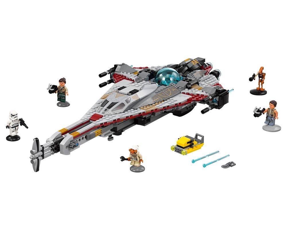 LEGO Set 75186-1 The Arrowhead (LEGO - Model)